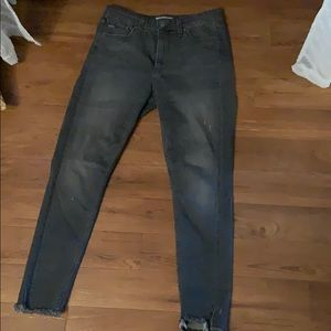 Levi high rise skinny jean